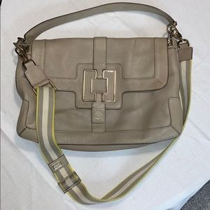 Anya Hindmarch shoulder bag taupe color large